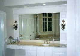 large frameless wall mirrors stunning bathroom mirror ideas and install trends also for extra
