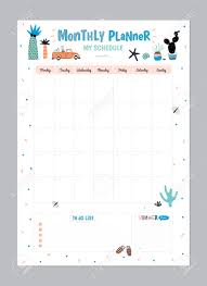 Daily Planner Sheets Scandinavian Weekly And Daily Planner Template Organizer And