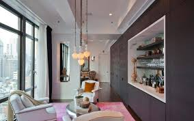 advantages of living room with bar counter