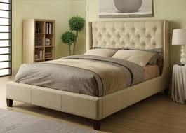 tufted bedroom furniture. Amazon.com: Coaster Furniture 300332KE Upholstered East King Bed In Beige Fabric: Kitchen \u0026 Dining Tufted Bedroom