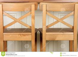 Wooden Bar Stool And Kitchen Counter Stock Images Image - Kitchen counter bar