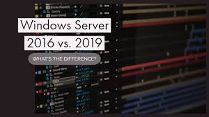 Sql 2012 Version Comparison Chart Comparison Of Windows Server 2016 Vs 2019 Whats The