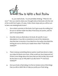 Student Book Review Essay