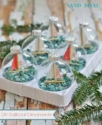 DIY Sailboat Ornaments. Nautical ChristmasBeach ...