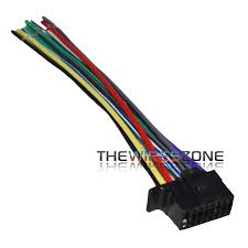 sony wiring harness ebay Sony Radio Wiring Harness 16 pin wiring wire harness for select 2013 up sony car radio stereo receiver sony radio wiring harness