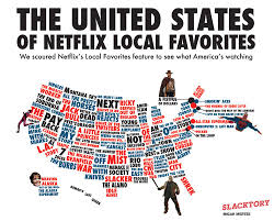 Netflix Movie Charts Americas Netflix Queue Presented In Handy Chart Form