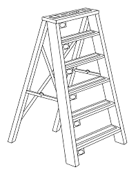 Ladder drawing at getdrawings free for personal use ladder
