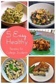 Best 25 Healthy Student Recipes Ideas On Pinterest Easy Recipes