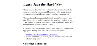 ways to learn java in just a couple of weeks learn java the hard way