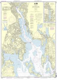 Noaa Nautical Chart 13224 Providence River And Head Of