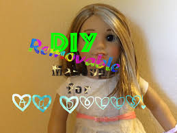 how to put makeup on an american doll diy ag american doll makeup diy removable makeup