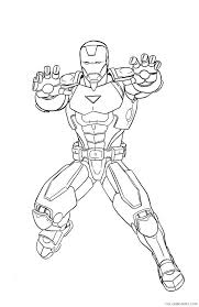 Printable drawings and coloring pages. Marvel Iron Man Coloring Pages Coloring4free Coloring4free Com