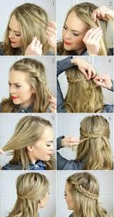 Image Cheveux Mi Long Coiffure Tresse Coupe De Cheveux Femme