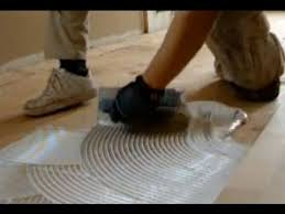 glue down hardwood flooring on plywood unfinished hardwood floor installation mryoucandoityourself you
