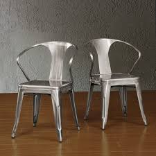 Perfectly futuristic, yet comfortable, these Tabouret stacking chairs  feature non-mar foot glides