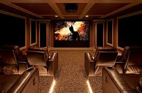 Basement Home Theater Design Ideas Decor