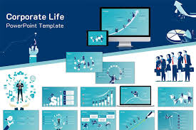 Sales Ppt Template Free Corporate Sales Management Powerpoint Template