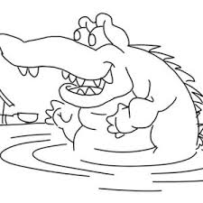 Small Picture Saltwater Crocodile Coloring Page Saltwater Crocodile Coloring