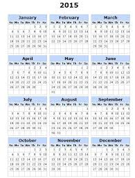Printable Calendar 2015 Monthly One Page Printable Calendar 12 Month Blank 2016 Calendar Calendar 12