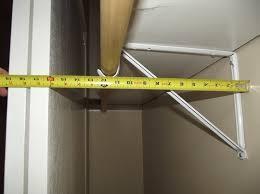 cool standard depth of a closet rod roselawnlutheran