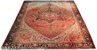 one of the spectacular antique persian heriz