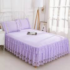 purple bedspread with pillowcases ruffle bed skirt queen bed skirt bed bedspreads skirt bed set princess