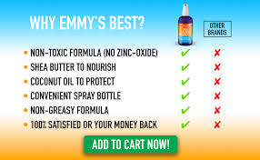 Emmys Best Dog Sun Skin Protector Spray Safe For All Breeds With No Zinc Oxide