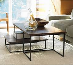 stacking coffee tables. Contemporary Tables Coffee Table Excellent Rectangle Outdoor Nesting Tables Railroad Tie  Duo Industrial To Stacking N