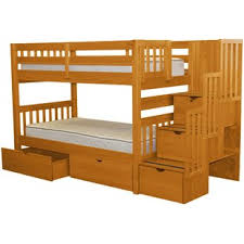 Tena Twin Over Bunk Bed With Extra Storage