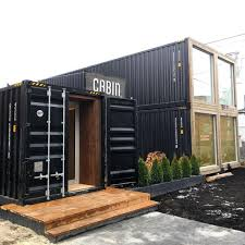 Shipping Container Showroom Cabin Toronto Retail Container - Home design showroom