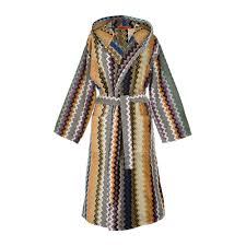 buy missoni home seth hooded bathrobe    amara