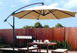 cantilever patio umbrella contemporary umbrellas hanging off set outdoor parasol 4 colors 11 ft with base costco