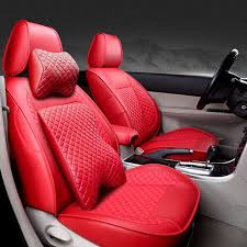 front rear special leather car seat covers for volkswagen vw pas