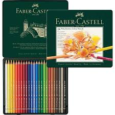 Polychromos Colour Pencil Tin Of 24