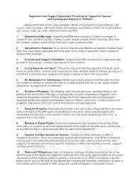 Custody Agreement Sample Sample Custody Agreement Example Of Child Custody Agreement Custody