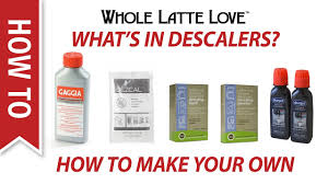 what s in espresso machine descaling s and how to make your own descaler