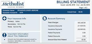 Online Bill Payment Houston Methodist