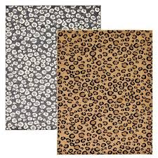 modern leopard skin style area rug contemporary animal design cheetah carpet for