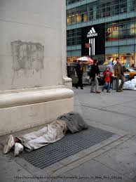 homeless on th street what would jesus do the essay the  homeless person and well off in ny