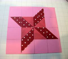 Ann Greenspan's Crafts: A Different Star Quilt Pattern with ... & ... parallelogram out of each. (Aren't you glad you took Geometry in high  school now)? Make sure the triangles you are adhering are in the correct  position: Adamdwight.com