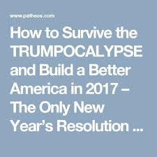 the best new year resolution essay ideas  how to survive the trumpocalypse and build a better america in 2017 the only new year s resolution that could actually make america better