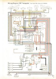 vw wiring diagrams 1966 non usa