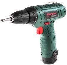"""<b>Дрель</b> аккумуляторная <b>Hammer</b> """"Flex <b>ACD12LE</b>"""", 12 В 550 об/мин ..."""