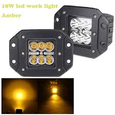 High Intensity Backup Lights Amazon Com 18w 4 5in Led Work Light Flush Mount Pods Cube