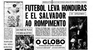 Uma guerra que começou no futebol