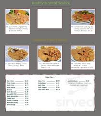 Cajun Seafood Market menu in Atlanta ...