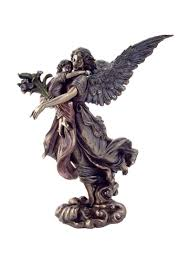 Veronese Design Angels Amazon Com Guardian Angel Holding Child Statue H 11