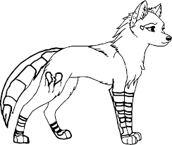 Wolf Coloring Picture Wellnessworldinfo