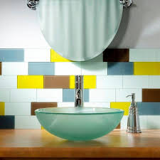 sunlit meadow glass decorative wall tile 8 pack