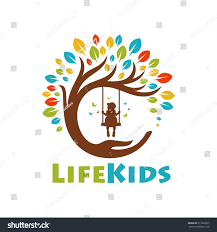Design Life Kids Tree Life Kids Logo Template Stock Image Download Now